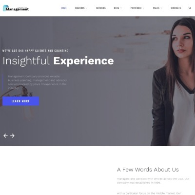 98 best consulting website templates