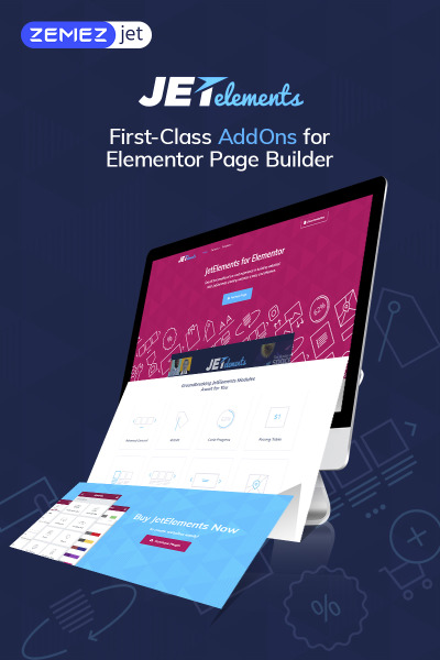 "Плагин WordPress ""JetElements - Addon for Elementor Page Builder"" #69508"