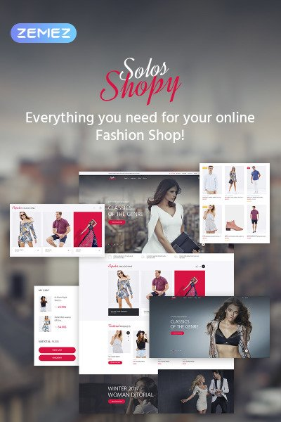 SolosShopy - Fashion Shop Elementor