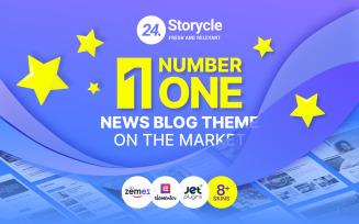 24.Storycle - Multipurpose News Portal WordPress Elementor Theme