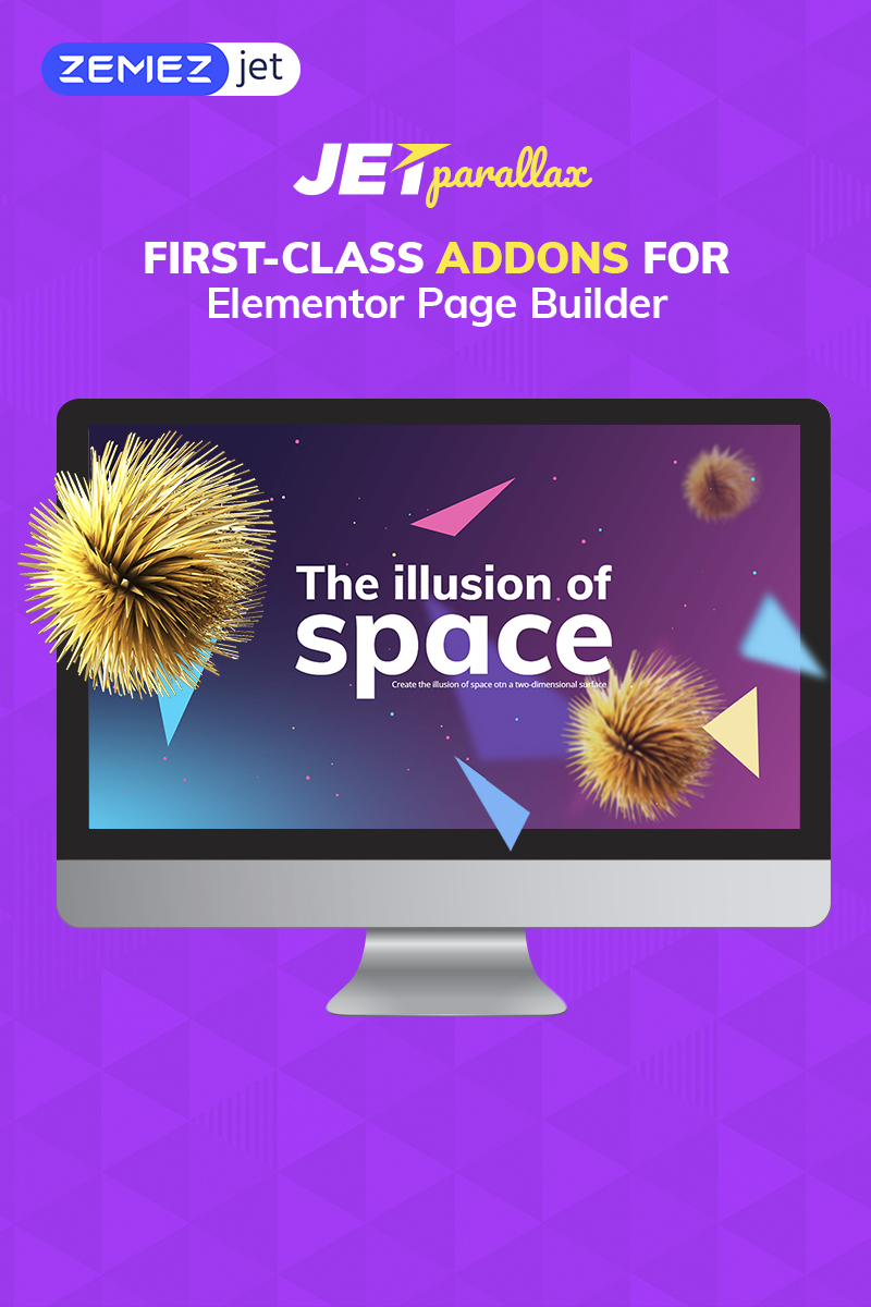 "Template Plugin per WordPress #69511 ""JetParallax - Addon per il Plugin di Wordpress Elementor Page Builder"""