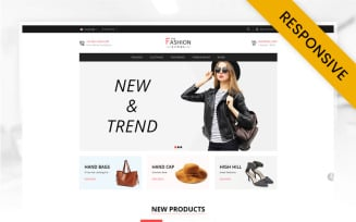 The Fashion - Minimal Store OpenCart Template