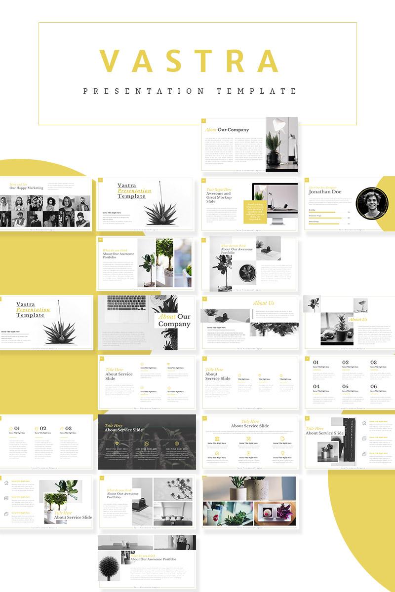 Vastra - PowerPoint Template - screenshot