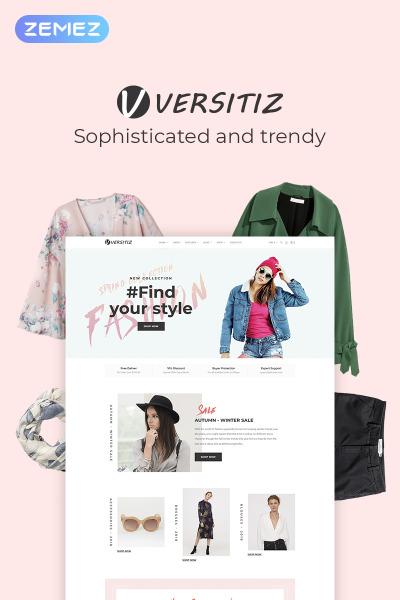 Versitiz - Minimal Women Fashion Elementor