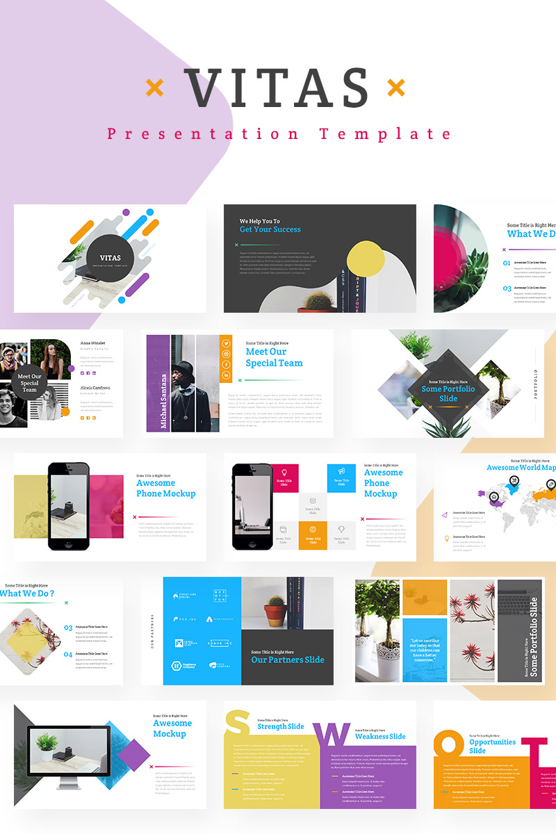 Vitas PowerPoint Template
