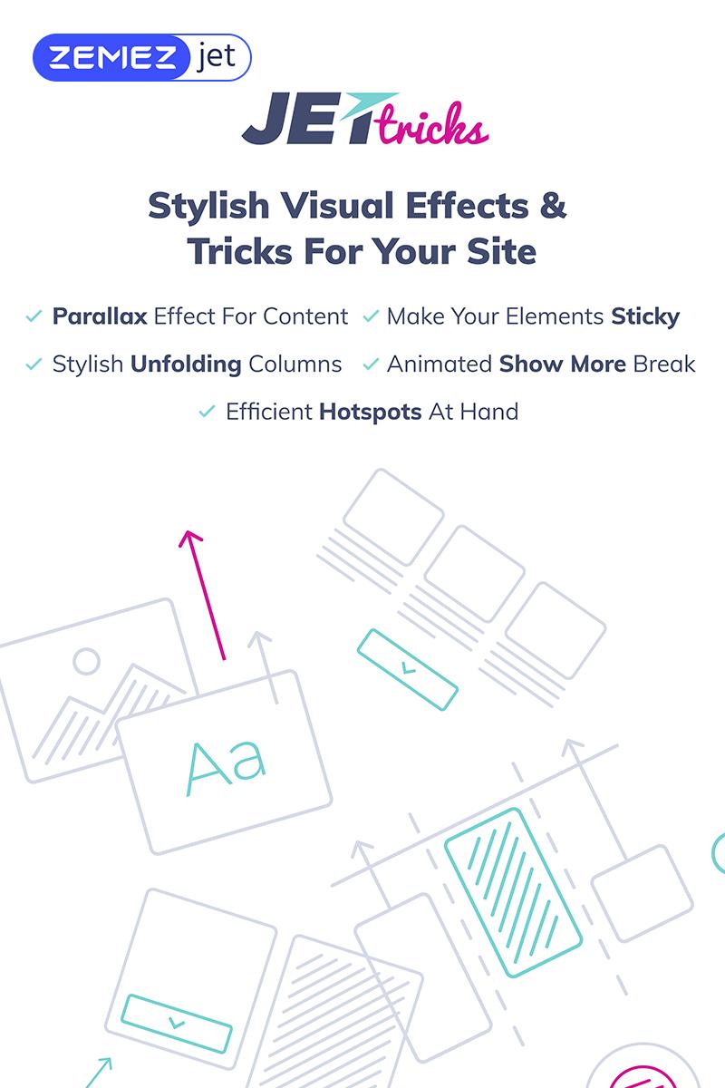 """WordPress Plugin namens """"JetTricks - Addon mit visuellen Effekten für Elementor"""" #69529"""
