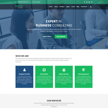 Preview image of Business Consulting - Finance, Business & Consulting