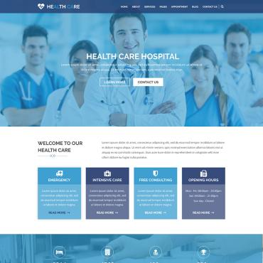 Preview image of HEALTH CARE - Medical Center and Health PSD Template