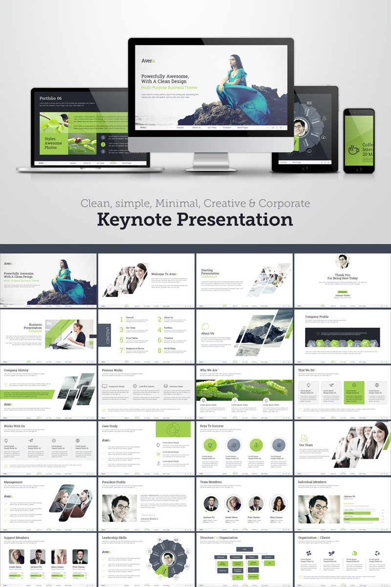 Transport Keynote Template | Website Templates