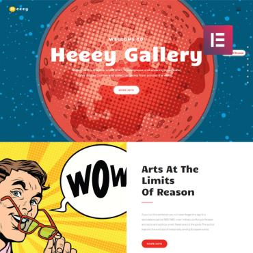 Preview image of Heeey - Art Gallery Elementor