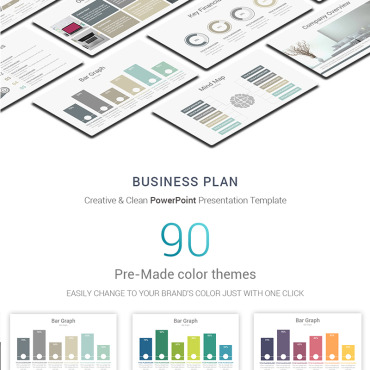 Preview image of Business Plan PowerPoint Presentation Template
