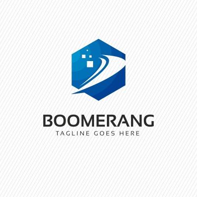 Boomerang Logo Template #69671