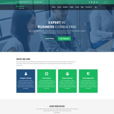 Management Company PSD Templates