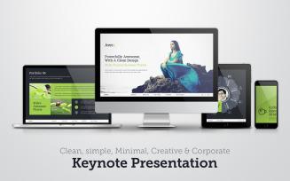 Clean-simple & corporate - Keynote template