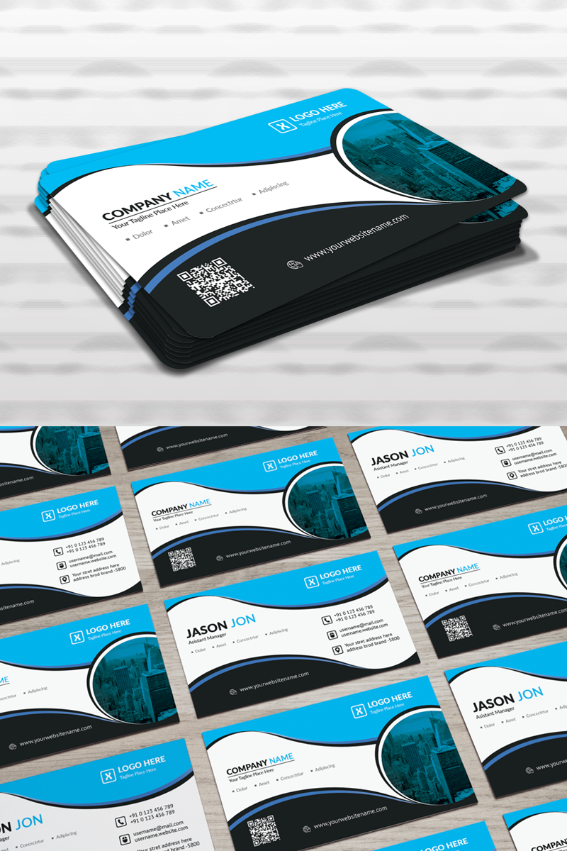 Jason Jon Personal Business Card Corporate Identity Template
