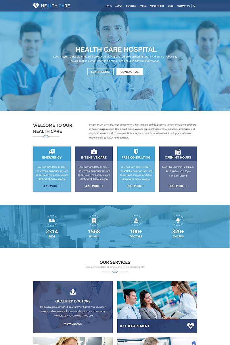 "PSD Vorlage namens ""HEALTH CARE - Medical Center and Health PSD Template"" #69606"