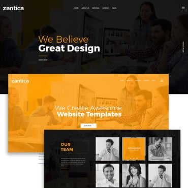 Preview image of Zantica - Multipurpose Business Agency/Personal