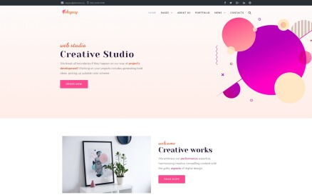 Elegacy - Creative Elementor WordPress Theme