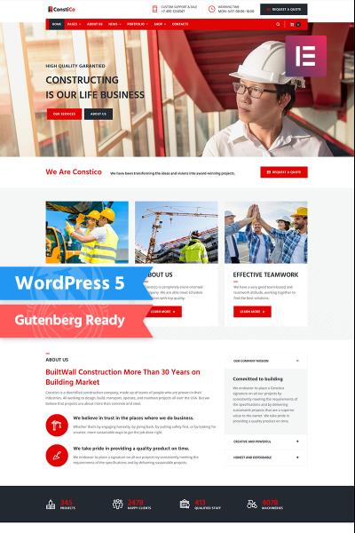 Stock Photo Responsive WordPress Motiv