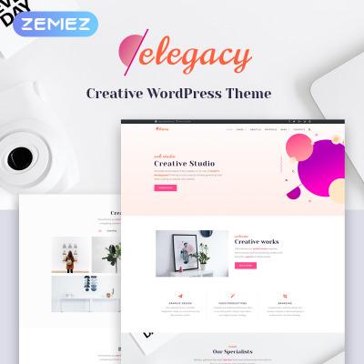 Tema de WordPress #48312 para Sitio de Estudios de diseño