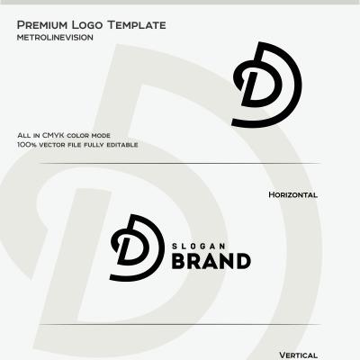 Letter D Logo Template #69741