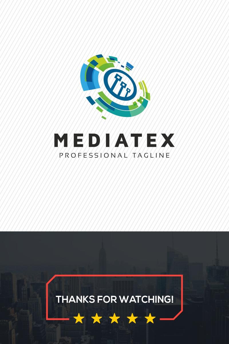 Mediatex Abstract Comm Logo Template