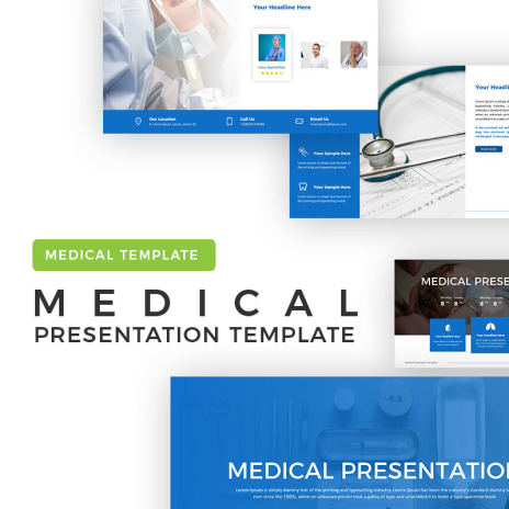 Powerpoint Templates Dental Implants Template Monster
