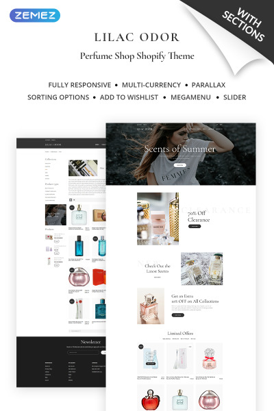 Wedding Venues Responsive Shopify Motiv
