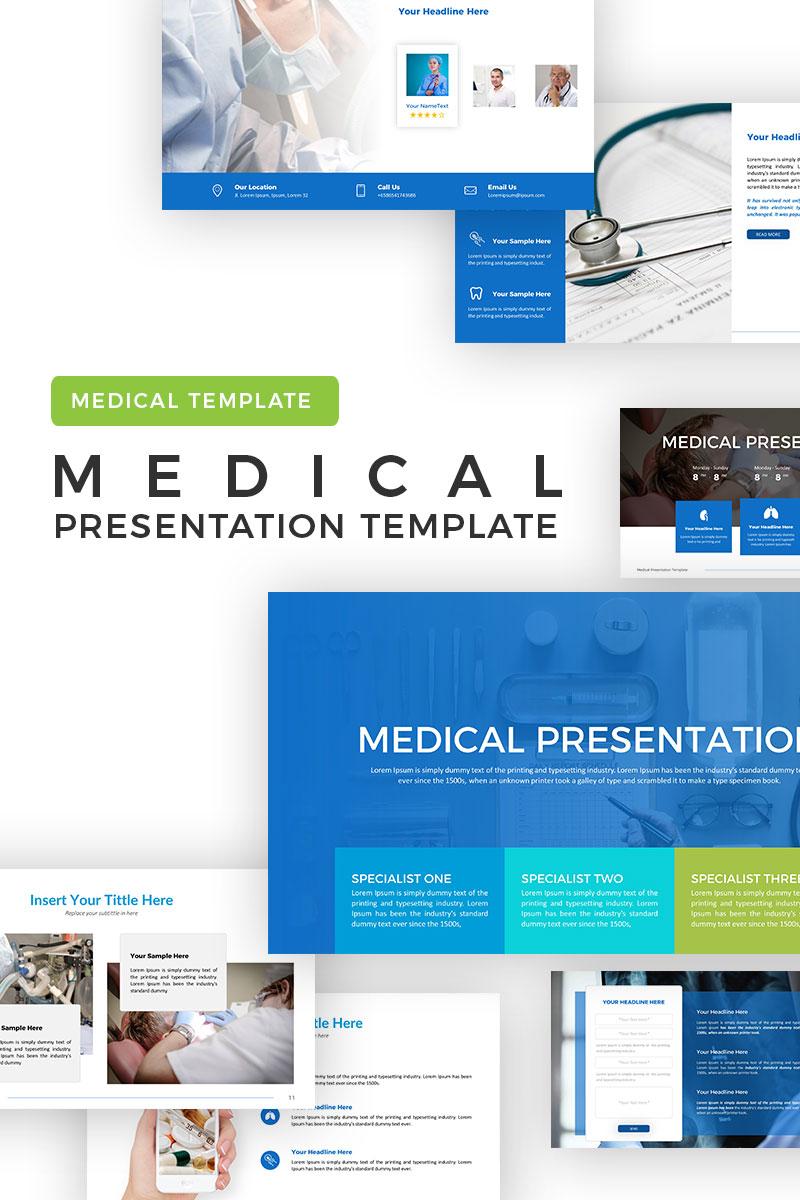 Szablon PowerPoint Medical #69793