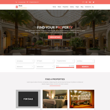 Preview image of Real-Properties - Real Estate