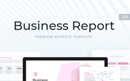 Business Report 2.0 for Keynote Template