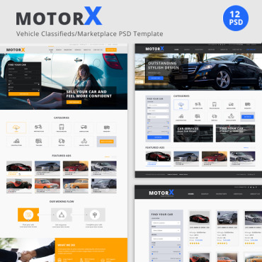 Preview image of MotorX - Vehicle Marketplace