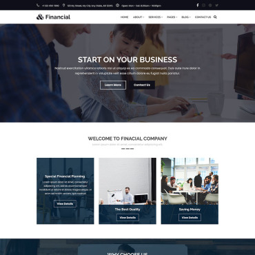 Preview image of Financial - Business & Finance Consulting