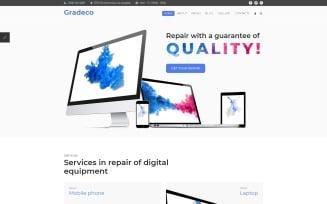Gradeco - Computer Repair Joomla Template