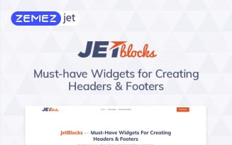 JetBlocks - Elementor Header & Footer Widgets WordPress Plugin