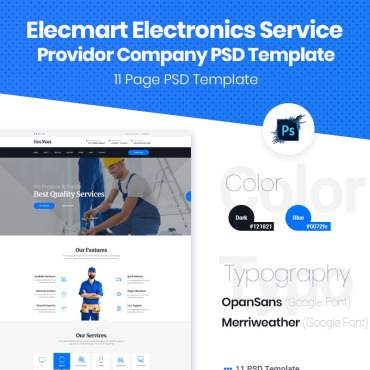 Preview image of Elecmart Electronics Service Provider Company