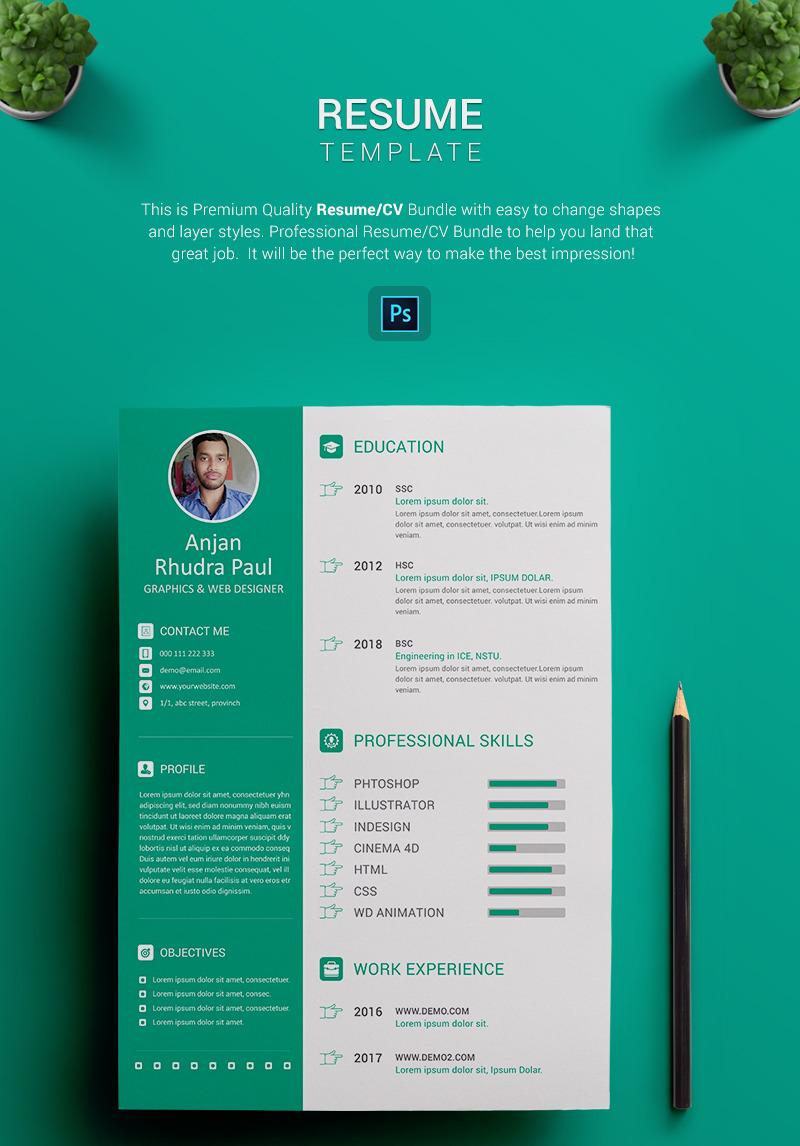 ARP  Graphic Designer Resume Template