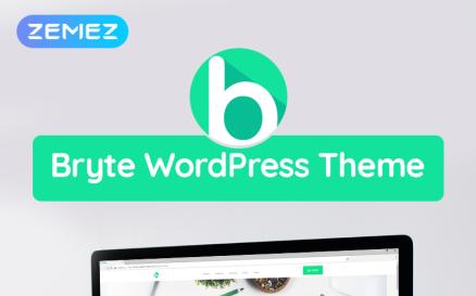 Bryte - Multipurpose Creative & Business WordPress Elementor Theme WordPress Theme