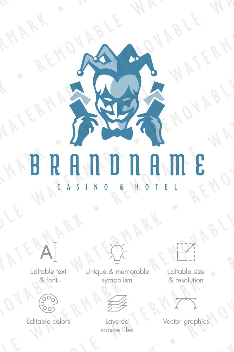 Harlequin Casino Logo Template - screenshot