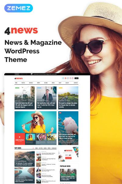 4News - News & Magazine Elementor