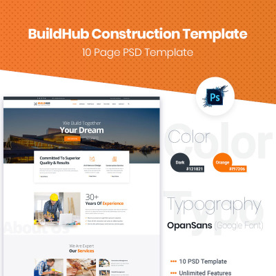 Photoshop Vorlagen, PSD (Photoshop) Web Templates - Template Monster