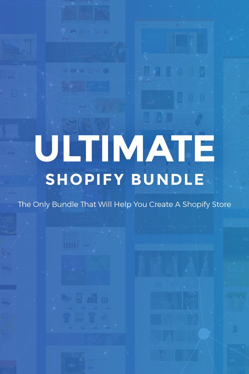 Responsywny bundle Ultimate - 30 Shopify Themes #69905