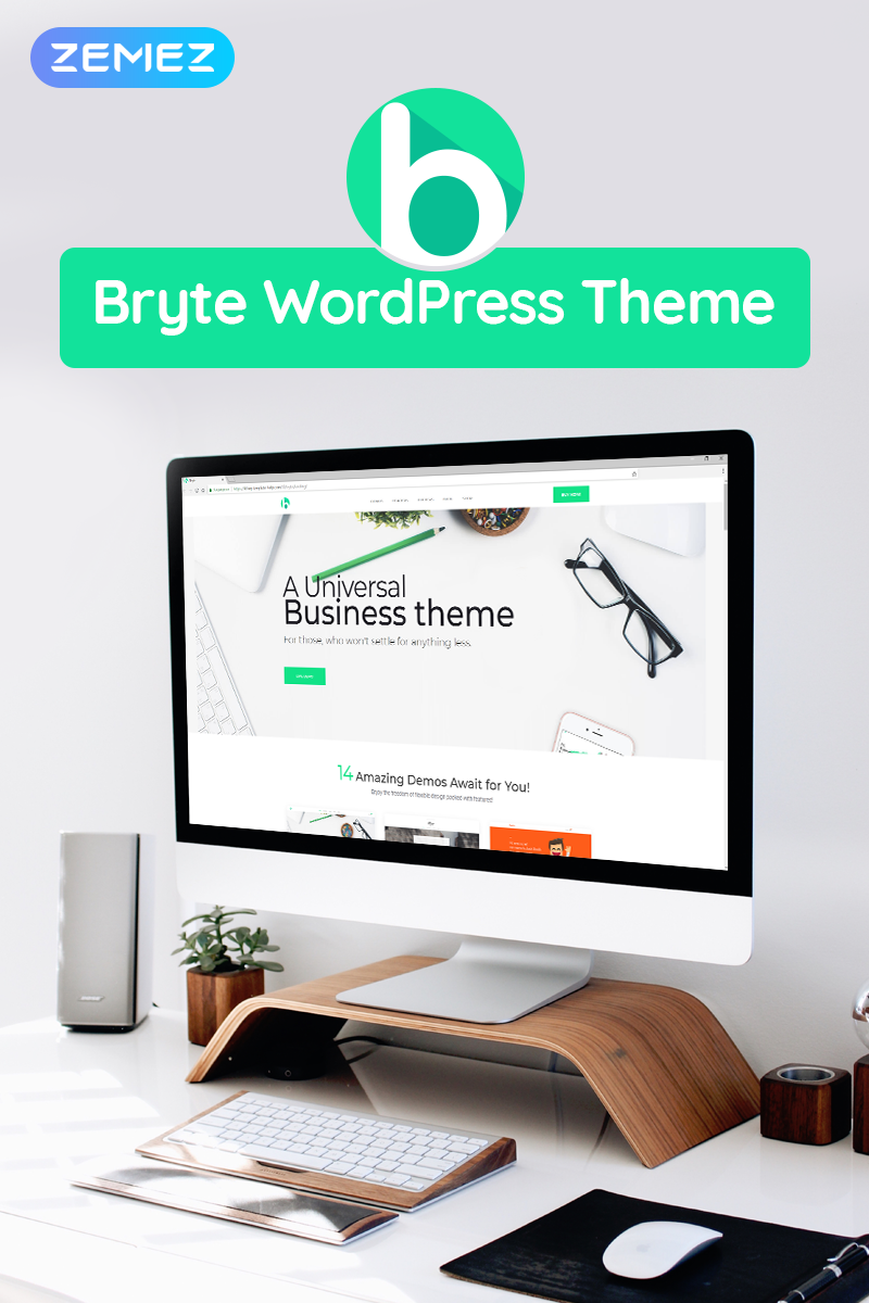 Responsywny motyw WordPress Bryte - Multipurpose Creative & Business Elementor #69942 - zrzut ekranu