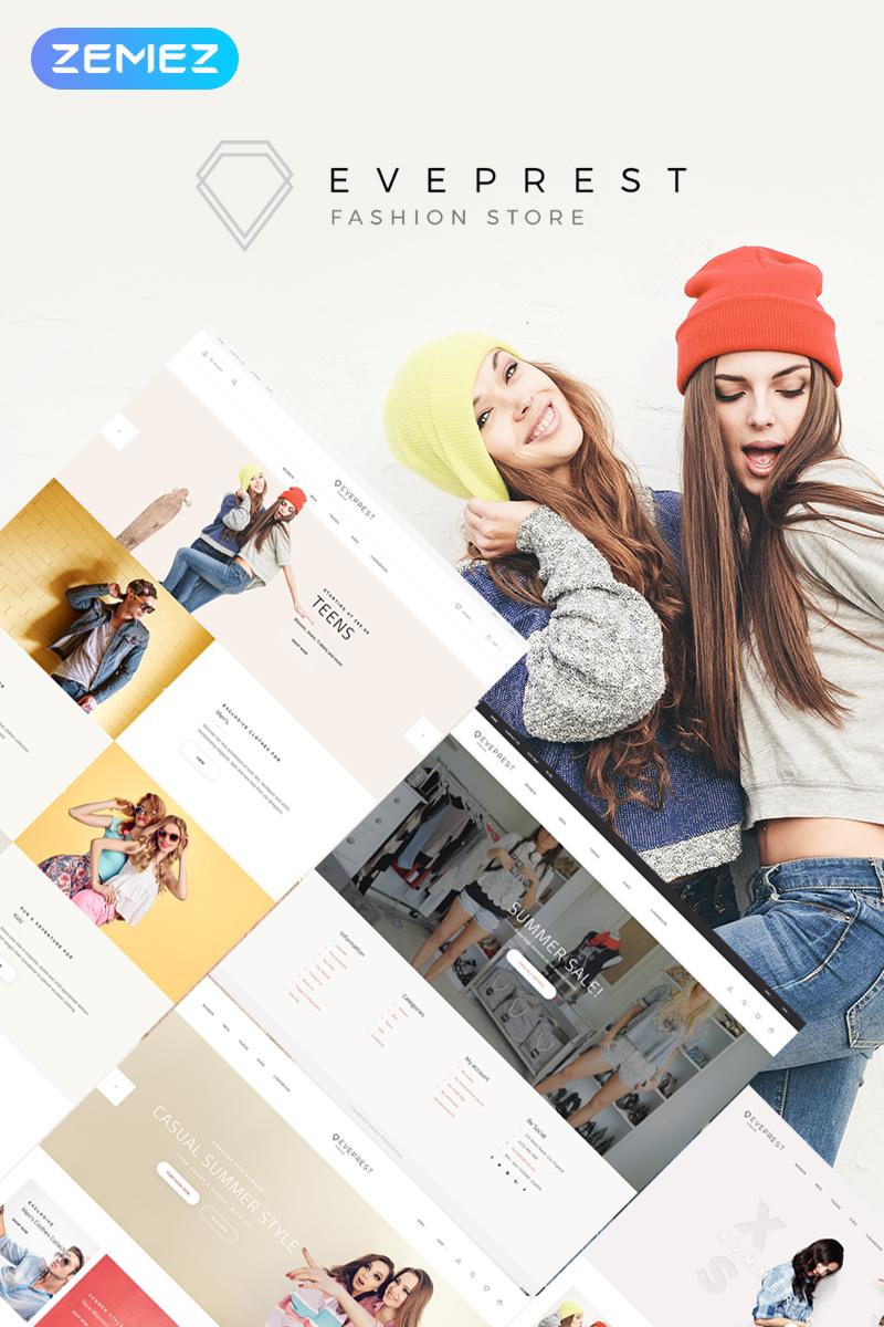 Responsywny szablon PrestaShop Eveprest Fashion 1.7 - Fashion Store #69941