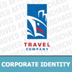 Travel Corporate Identity Template 7032
