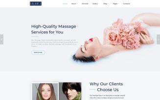 Balance - Elegant Massage Salon Multipage Website Template