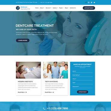 Preview image of Dent-Care - Dental Clinic and Health