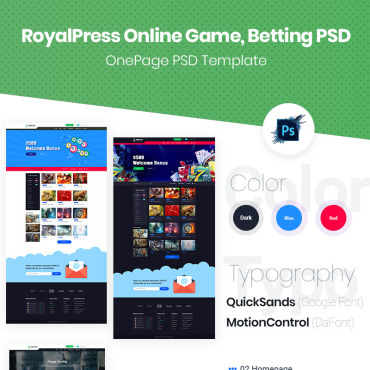 Preview image of RoyalPress Online Gaming, Betting Website