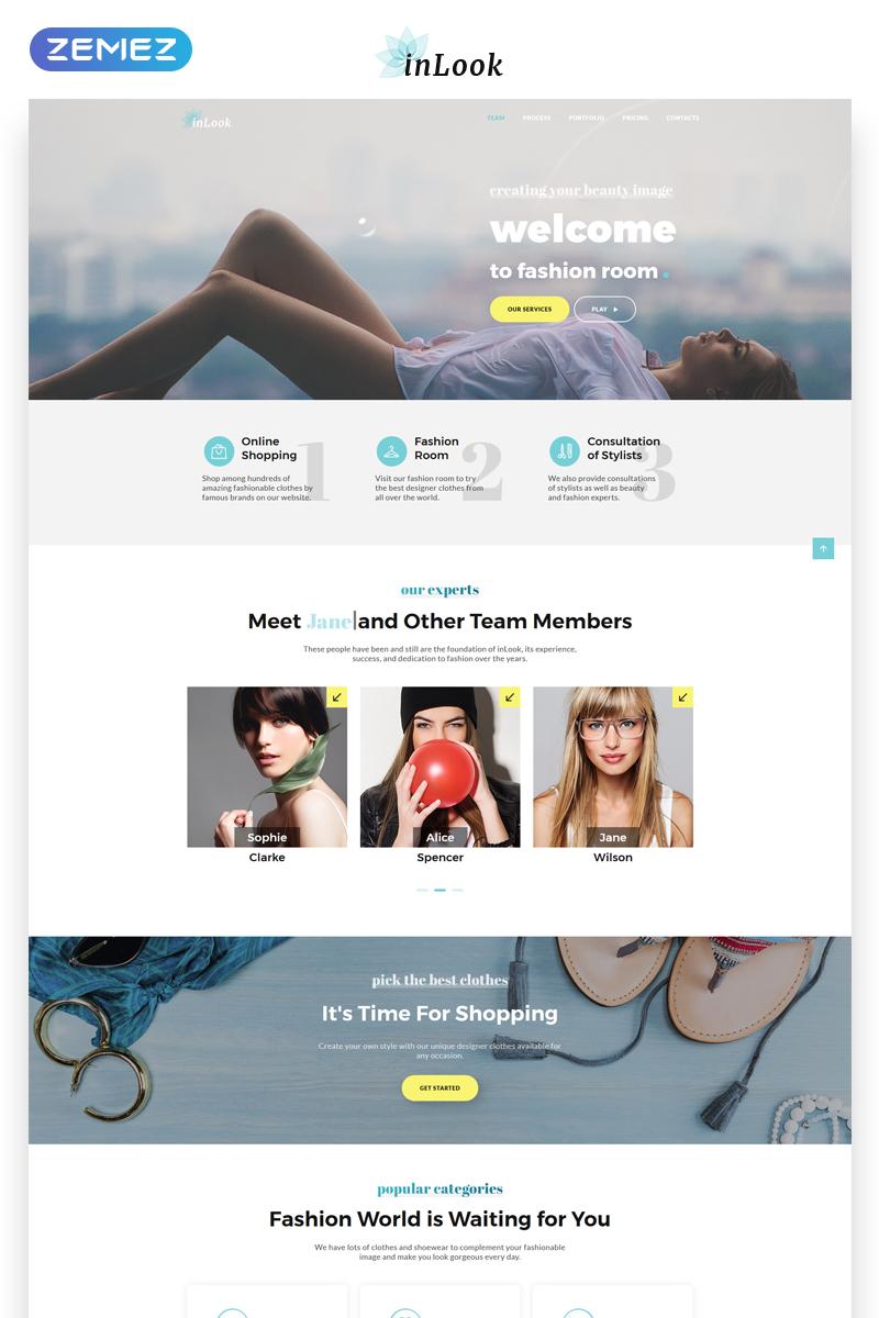 inLook - Fashion HTML5 №70017