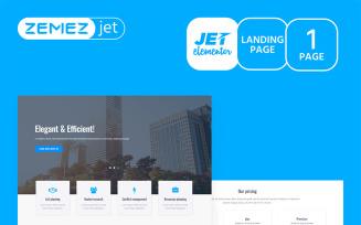 Granbiz - Business Jet Elementor Kit